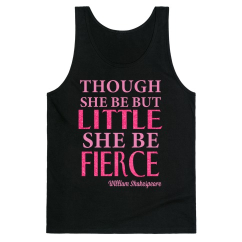 Little But Fierce (Gym Diva) Tank Top