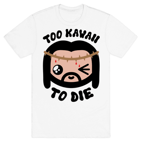 Kawaii Jesus-Kun Mens T-Shirt