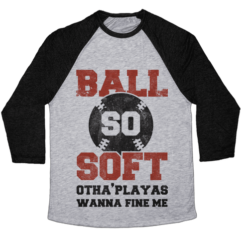Ball So Soft Baseball Tee