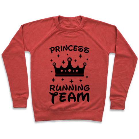 Princess Running Team Neon Pullover