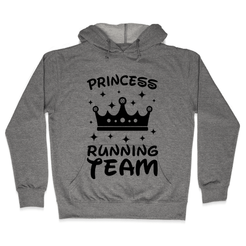Princess Running Team Neon Hooded Sweatshirt
