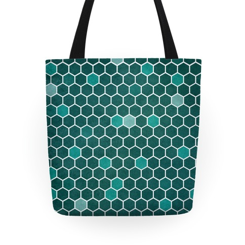 Hexagon Pattern Tote