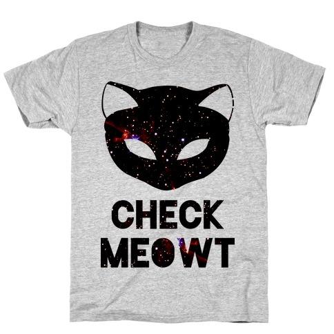 Check Meowt Galaxy T-Shirt