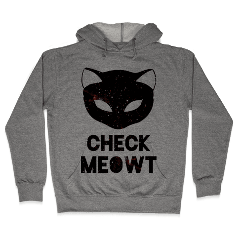 Check Meowt Galaxy Hooded Sweatshirt