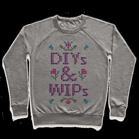 DIYs & WIPs Pullover