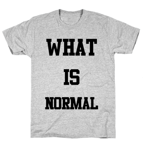 What is Normal Mens T-Shirt