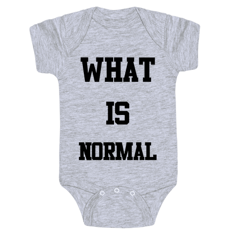 What is Normal Baby Onesy