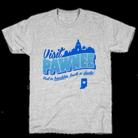 Visit Pawnee Mens T-Shirt