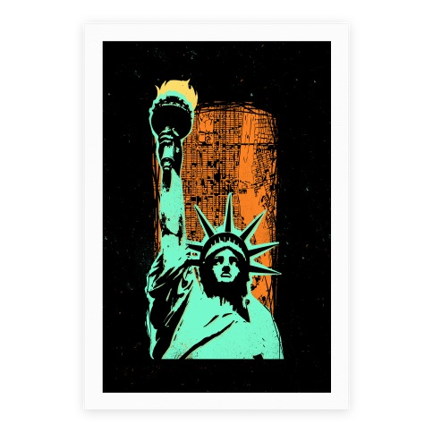 Liberty In The City Poster