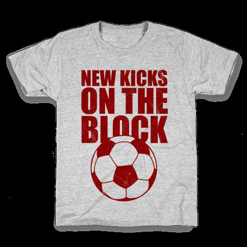 New Kicks On The Block Kids T-Shirt