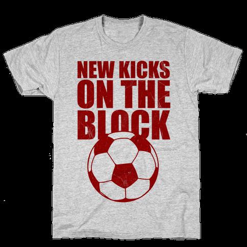 New Kicks On The Block Mens T-Shirt