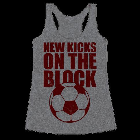 New Kicks On The Block Racerback Tank Top