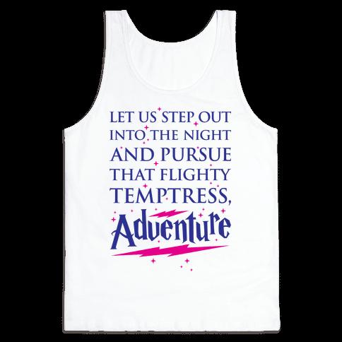 That Flighty Temptress, Adventure Tank Top