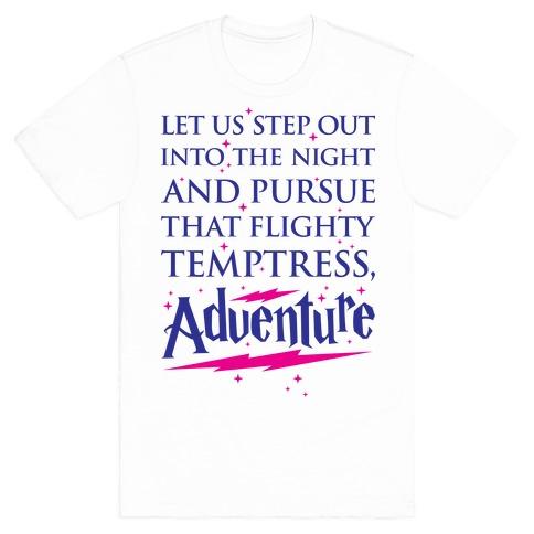 That Flighty Temptress, Adventure Mens T-Shirt