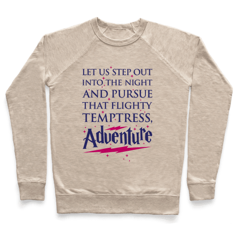 That Flighty Temptress, Adventure Pullover