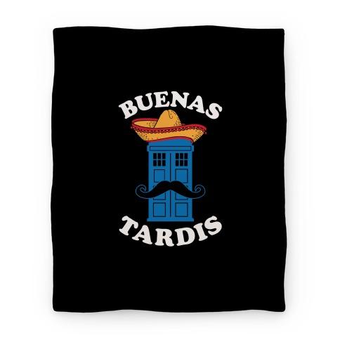 Buenas Tardis Blanket