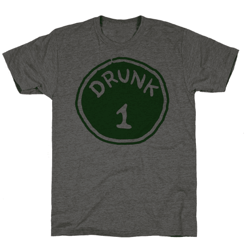 Drunk 1 Mens T-Shirt