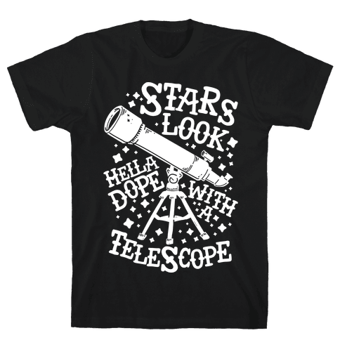Stars Look Hella Dope With a Telescope