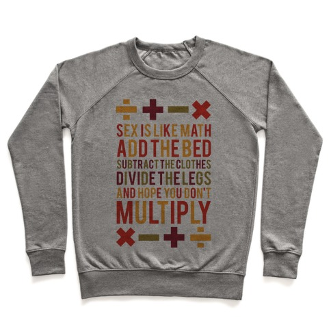 Sex is Math Pullover