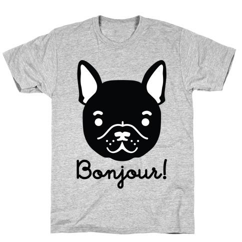 Bonjour French Bulldog T-Shirt