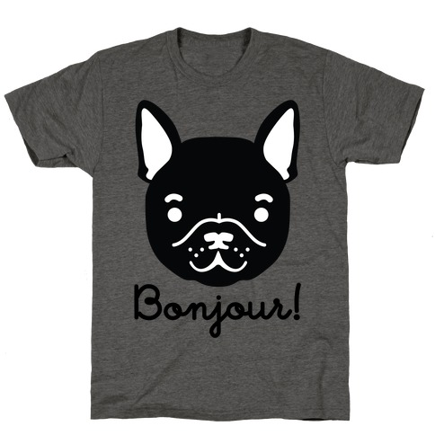 Bonjour French Bulldog T-Shirt