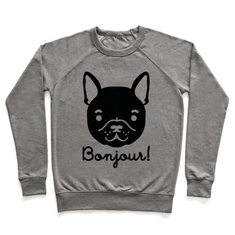 Bonjour French Bulldog Pullover