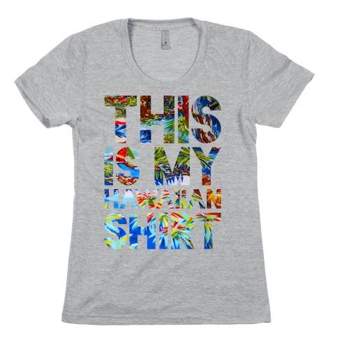 Hawaiian Shirt Shirt ver.2 Womens T-Shirt