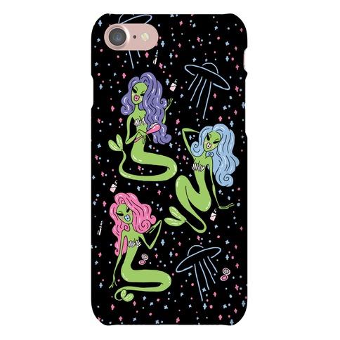 Mermaid Martians Phone Case