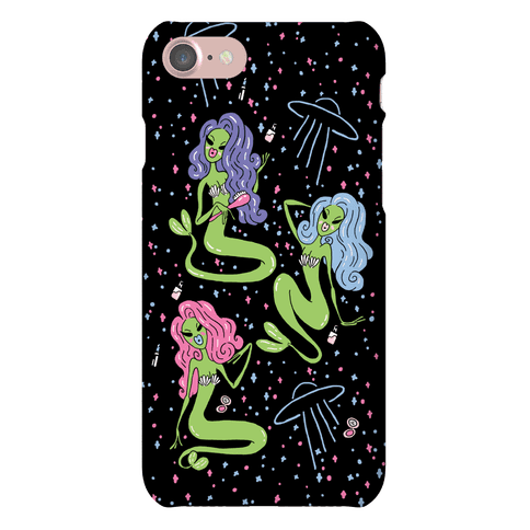 Mermaid Martians Phone Case