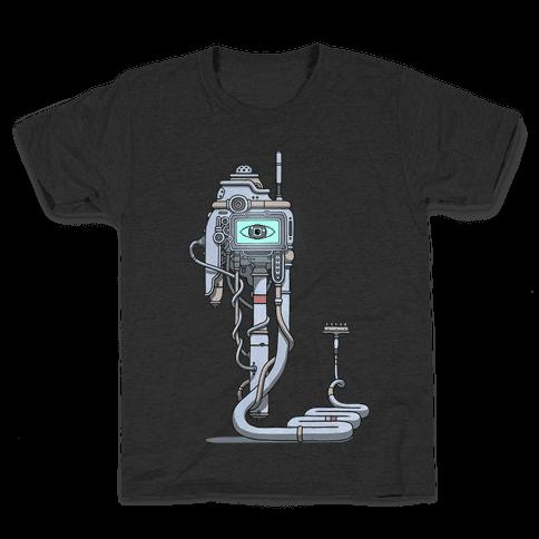 Snake Computer Kids T-Shirt