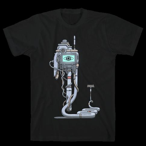 Snake Computer Mens T-Shirt