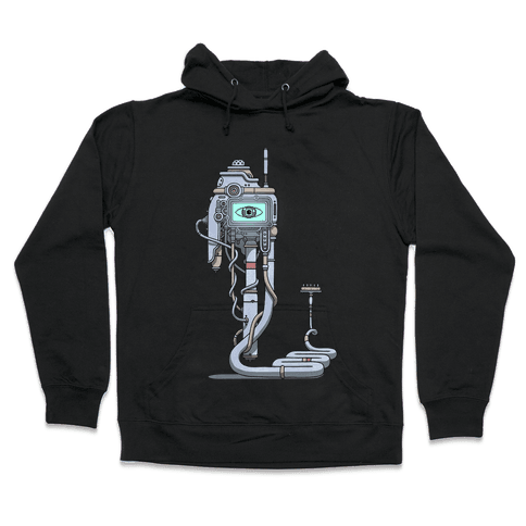 Snake Computer Hooded Sweatshirt