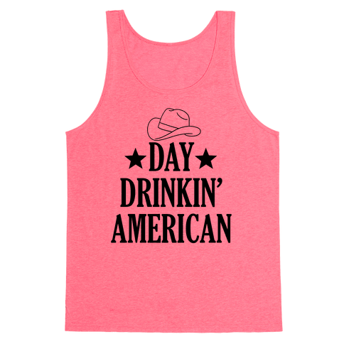 Day Drinkin' American Tank Top
