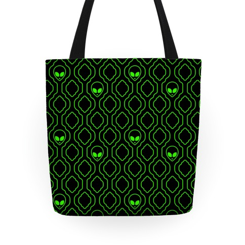 Alien Wallpaper Tote