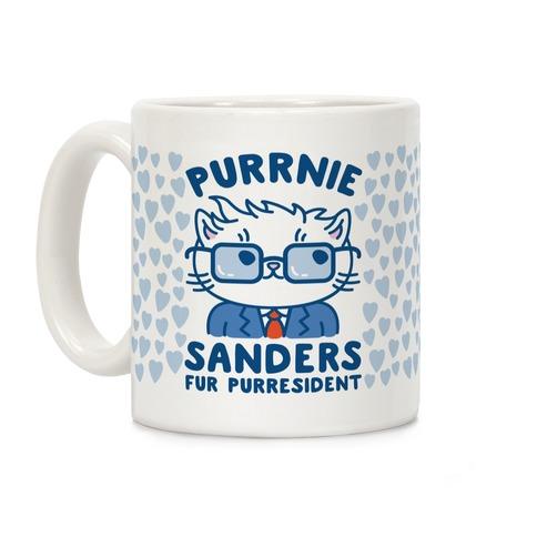 Purrnie Sanders Fur Purresident Coffee Mug