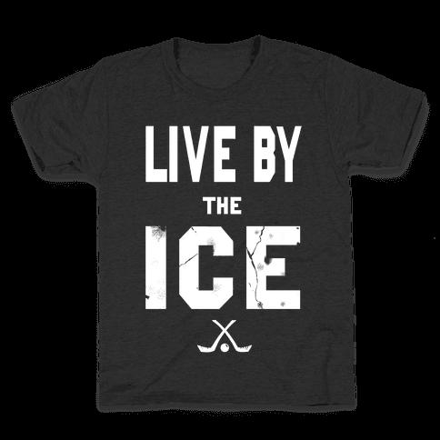 Live by the Ice (dark) Kids T-Shirt
