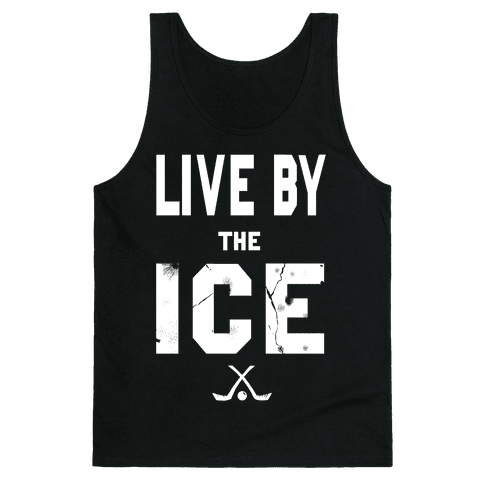 Live by the Ice (dark) Tank Top