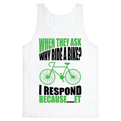 Bike Riding Motivation Tank Top