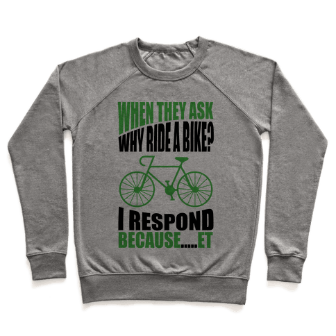 Bike Riding Motivation Pullover
