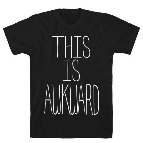 This is Awkward (Tank) Mens T-Shirt