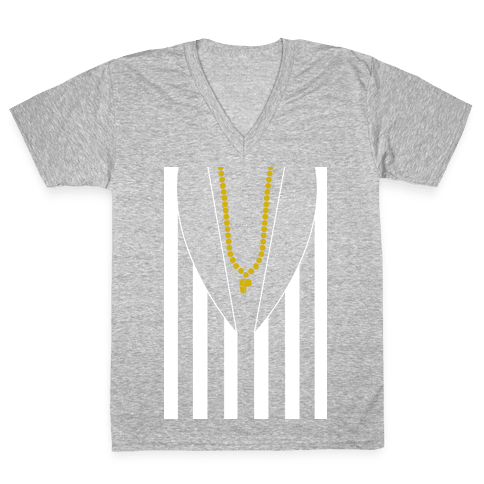 Robin's Beetlejuice Outfit V-Neck Tee Shirt