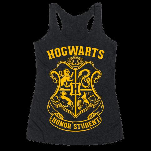 Hogwarts Honor Student Racerback Tank Top