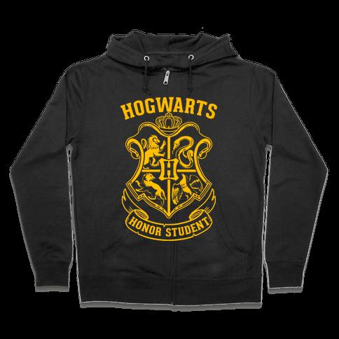Hogwarts Honor Student Zip Hoodie