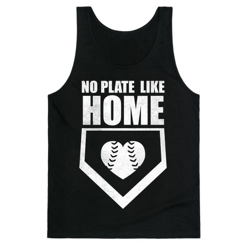 No Plate Like Home (Dark Tank) Tank Top