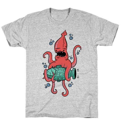 Squid Attack T-Shirt