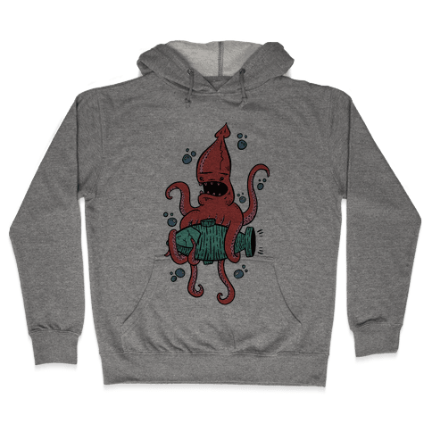 Squid Attack Hooded Sweatshirt