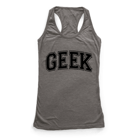 Geek Racerback Tank Top