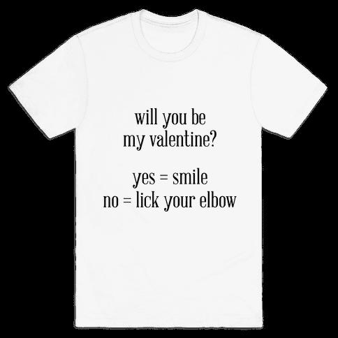Yes or No Mens T-Shirt