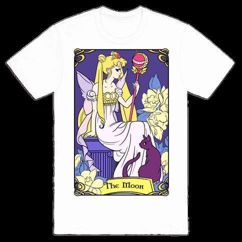 The Moon Tarot Mens T-Shirt