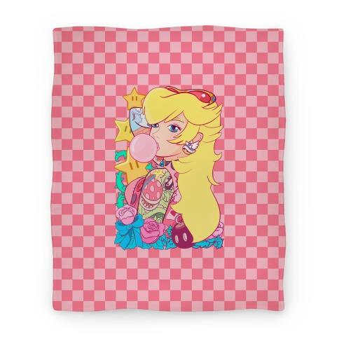Punk Peach Parody Blanket